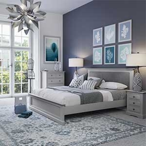 Belper Grey Small Bedside